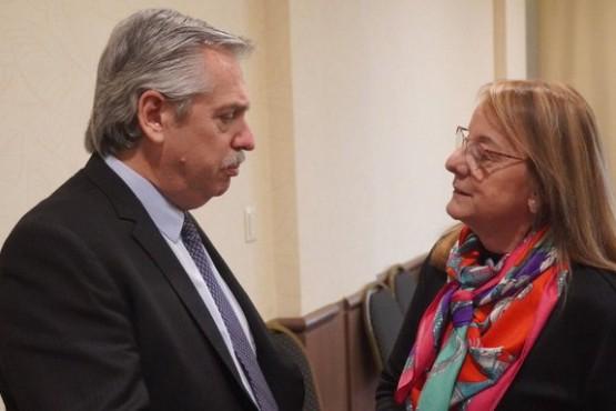 Alicia apoya la decisión del Presidente frente al pago de la deuda