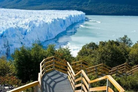 El Glaciar Perito Moreno.