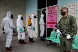 Brasil reportó un nuevo récord diario de muertes