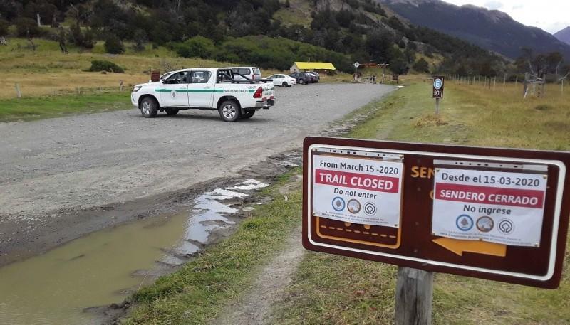 Infraccionaron a tres personas que ingresaron a la zona del Parque Nacional Los Glaciares