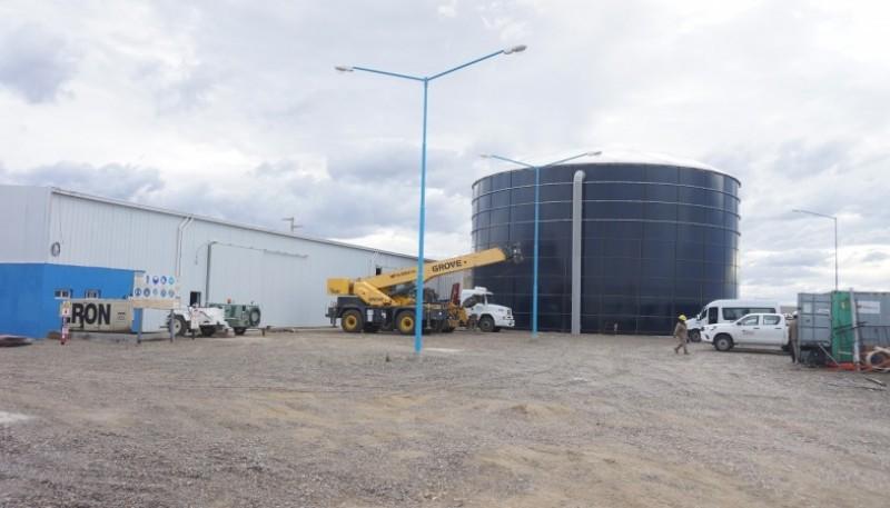 Inició el llenado del tanque de 5 millones de litros de la Planta de Ósmosis Inversa