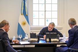 El Presidente mantuvo una comunicación con Macron