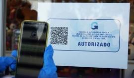 Entregaron códigos QR a los comercios que trabajarán de manera digital