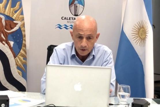 Cotillo participó de la reunión virtual junto a otros 33 intendentes.