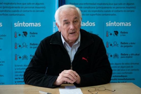 El ministro de Salud y Ambiente Juan Carlos Nadalich.