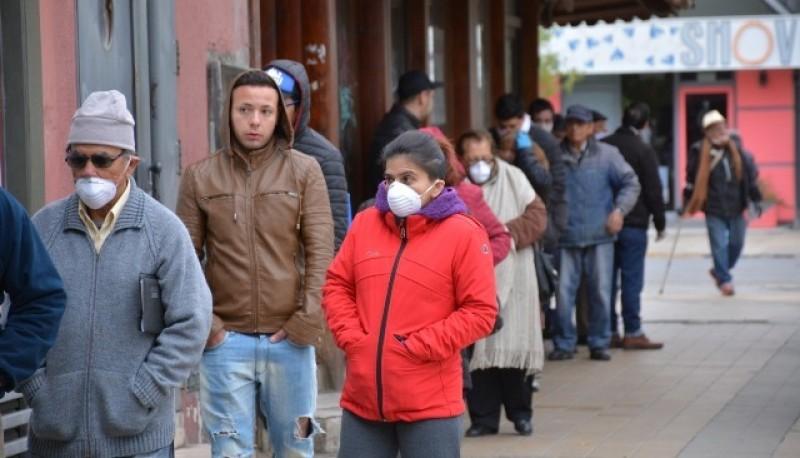 """Mantener la distancia social de dos metros"", explicó Córdoba."