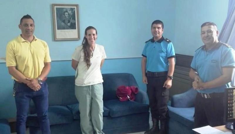 Coordinan protocolo de actuación de las personas alojadas en el Hotel Deportivo de Rawson