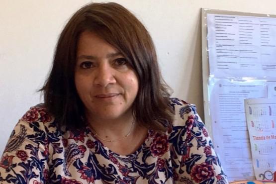 La subsecretaria Florencia Perata.