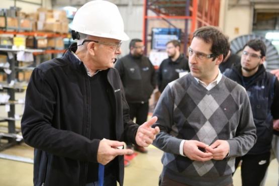 Luque destacó la ayuda económica a trabajadores autónomos y empresas