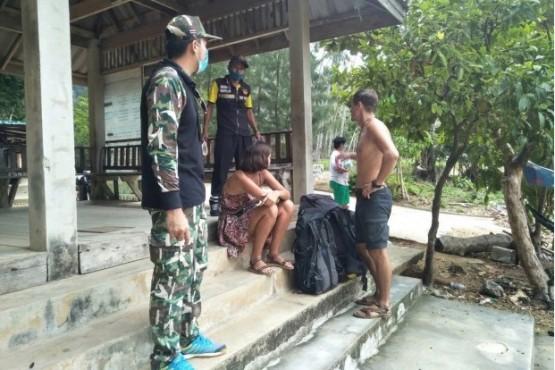 Una pareja rusa quedó varada en Tailandia y vivió un mes en una cueva