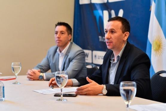 Maderna se reunió con el sector inmobiliario