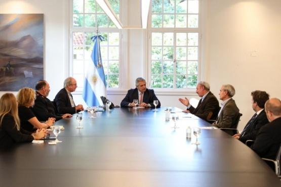 Alberto Fernández recibió a representantes de la industria farmacéutica