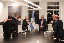 Alberto se reunió con la Federación Argentina de Iglesias Evangélicas