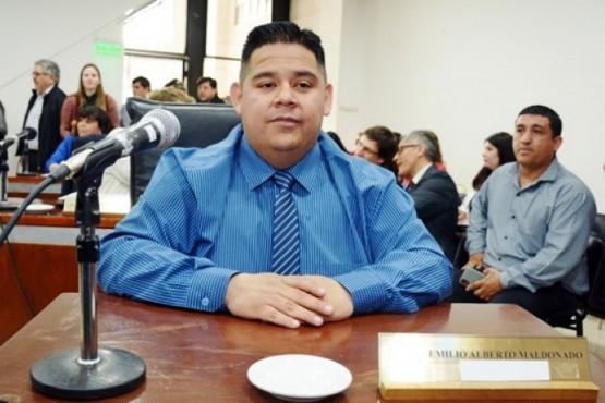 Emilio Maldonado, presidente del Concejo Deliberante local.