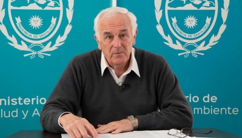 El Ministerio de Salud y Ambiente, el ministro Juan Carlos Nadalich