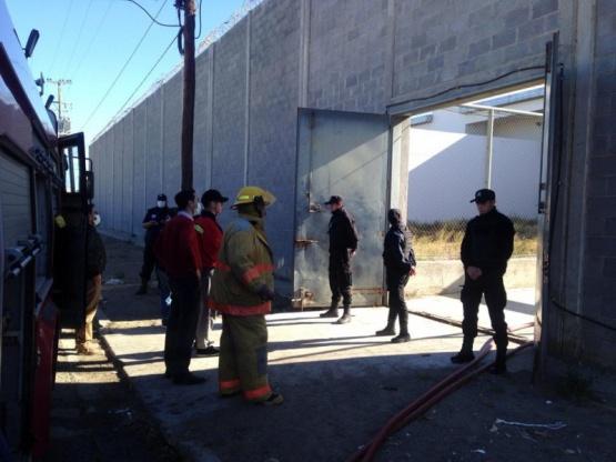 Incendio en Comodoro Rivadavia.