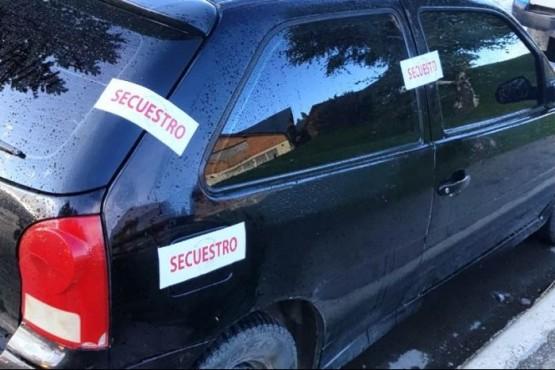Auto secuestrado (foto ilustrativa).