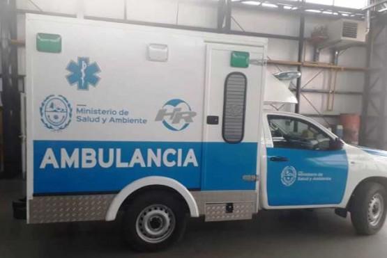 Ambulancia que utilizó el San Benito hasta el 16 de marzo.