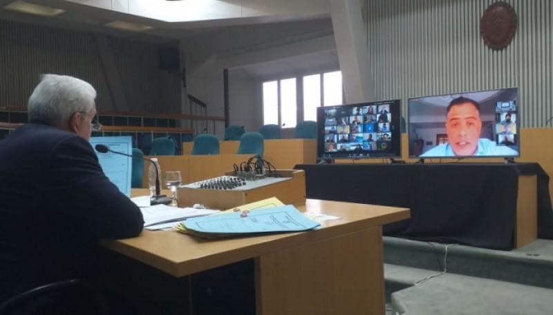 El recinto de la Legislatura (Foto: C.Robledo).