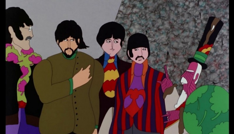 Yellow Submarine, la película de los Beatles