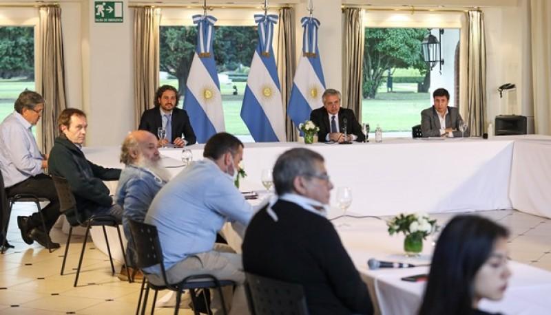 """Alberto Fernández:""""Tenemos la oportunidad de hacer un sistema más justo"""""""