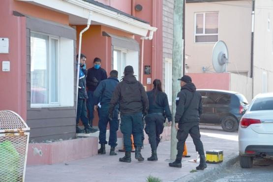 Vivienda donde se cometió el robo a mano armada. (Foto: C.R.)