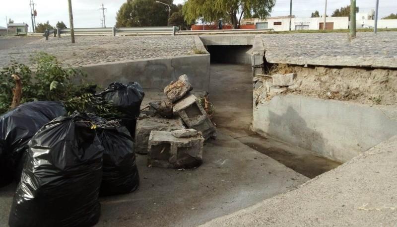 Funcionarios destacaron el gran trabajo para el funcionamiento de los pluviales