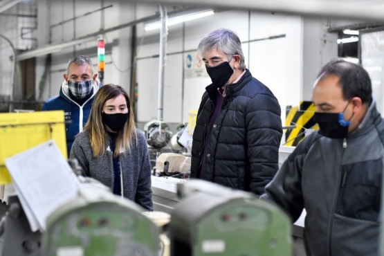 El Municipio recorre empresas del Parque Industrial constatando protocolos sanitarios