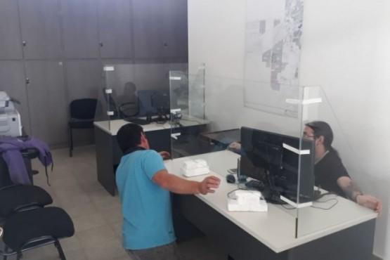 Servicios Públicos reacondiciono sus oficinas de Atención al Cliente