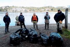 Limpieza de riberas del Río Futalefú