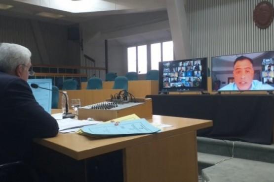 La sesión virtual fue declarada como ilegal por una parte de la oposición.