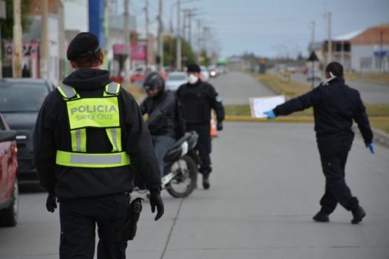 Controles de la policia.