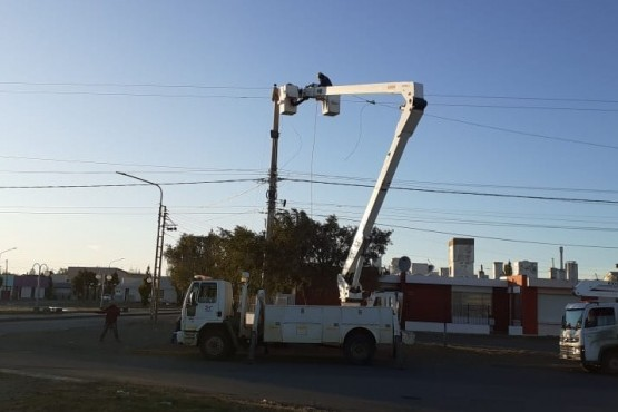 SPSE asistió a un corte de energía que afectó varios barrios