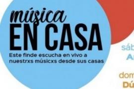 """Se suspendió la transmisión en vivo del ciclo """"Música en Casa"""""""