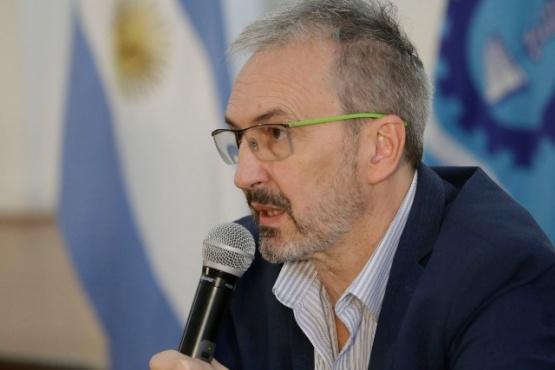 El ministro de Salud de Chubut, Fabián Puratich