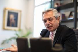 Alberto Fernández mantuvo una comunicación telefónica con su par chileno Sebastián Piñera