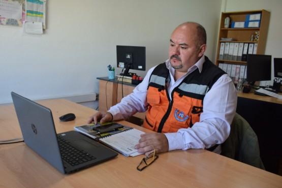 El subsecretario de Protección Civil y Abordaje Integral de Emergencias y Catástrofes, Diego Farías.