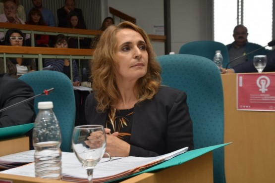 La Diputada Provincial Nadia Ricci