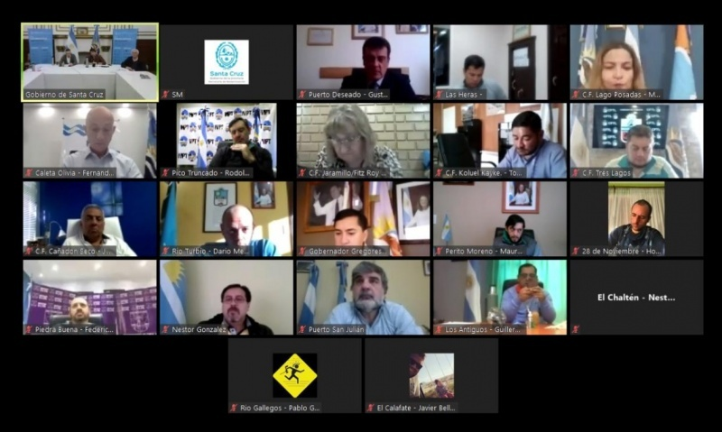 Reunión virtual de hoy.