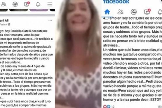 Una maestra se volvió viral por su polémica respuesta a un grupo de mamás