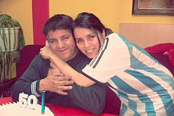 Antonio y Stefy Rosales.