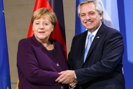 Alberto conversó con Merkel sobre la deuda y medidas aplicadas por Coronavirus
