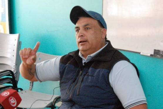 Claudio Paredes, dirigente de UOCRA .