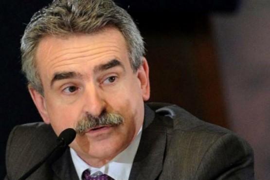 El Ministro de Defensa, Agustin Rossi