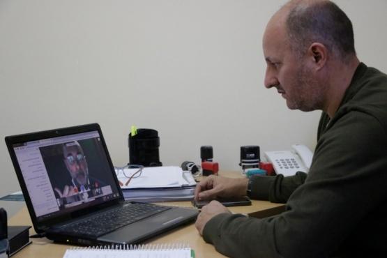 Gobierno participó de la videoconferencia