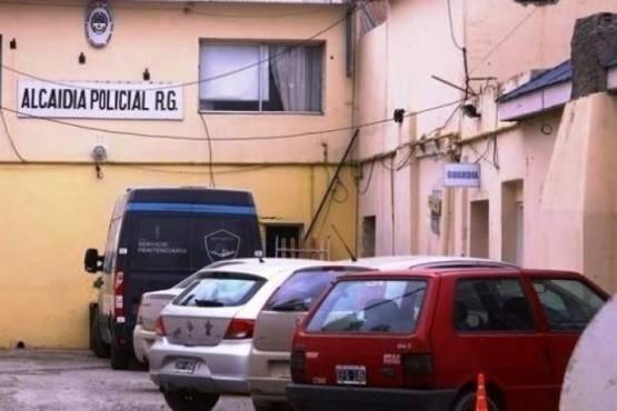 Alcaidía policial, uno de los lugares de detención en Río Gallegos. (Archivo).