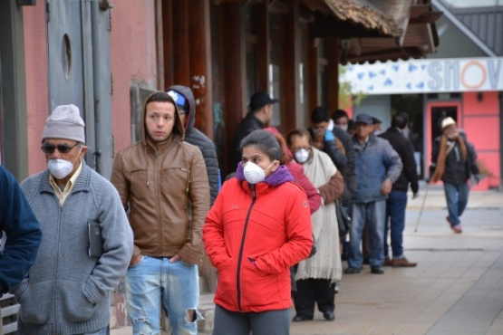 Los riogalleguenses podrán salir a la calle según la determinación de sus DNI