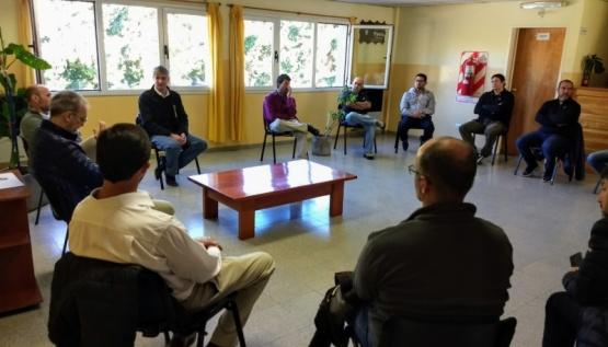 Gabinete coordinó trabajos conjuntos con municipios