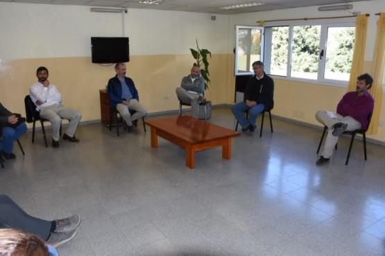 Ongarato se reunió con el Ministro de Salud de la Provincia