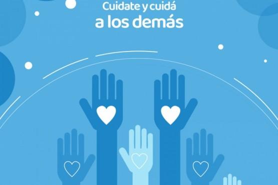 Destacan campaña que promueve el cuidado de la Salud Física y Mental en cuarentena
